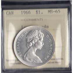 Canada - 1966 Silver Dollar