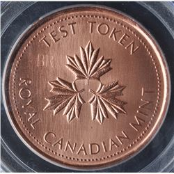 Canada - Complete Set of 1983 Royal Canadian Mint One Dollar Test Tokens