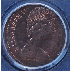 Canada - 1982 Twenty Five Cents Struck on One Cent Planchet