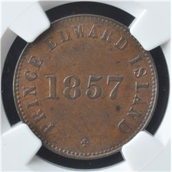 Prince Edward Island Token, 1857