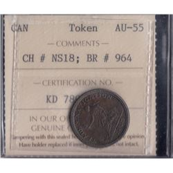 Trade & Navigation Token, 1813