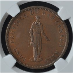 Quebec Bank Penny, 1837