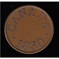 Half Penny Token, 1830