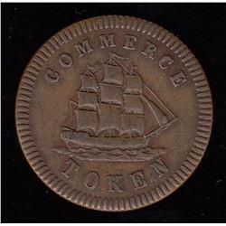 Francis Mullins half penny token.