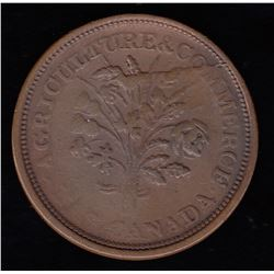 Lower Canada Sou Token, (ca. 1837)