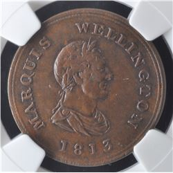 Marquis Wellington Token, 1813