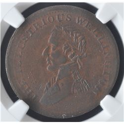 Wellington Half Penny Token, 1816