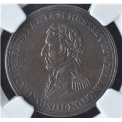 Wellington Lower Canada ½ Penny Token (c.1813)