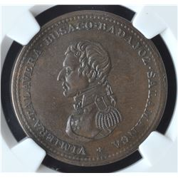 Wellington Lower Canada Cossak Penny Token (1813)
