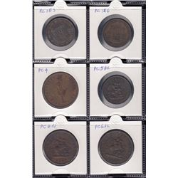 Province of Canada - Lot of 6