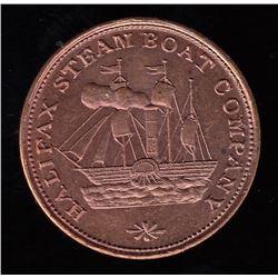 Halifax Steamship Company Token (ca. 1845).