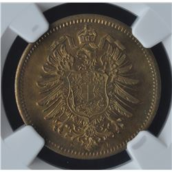 Post Confederation - Gesangverein 5 Cents Proof Token