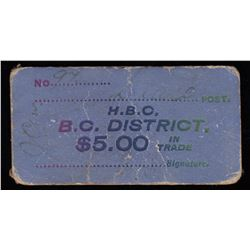 HUDSON'S BAY COMPANY CARD TOKEN - Dease Post.