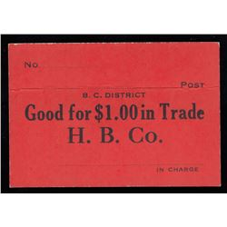HUDSON'S BAY COMPANY CARD TOKEN -  Generic token.