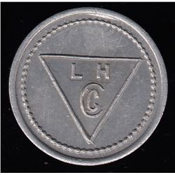 NWT - BAKER LAKE - Lamson & Hubbard - Private Fur Trade Token