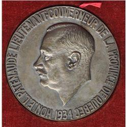 Lieutenant Governor Medal, Quebec