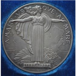 Canadian Medal - Official Confederation Medal, 1927