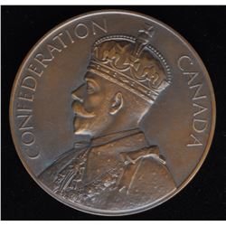 Canadian Medal - 60th Anniversary of Canadian Confederation Table Medal, 1927