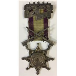 Victoria Rifle Association Medal, 1882