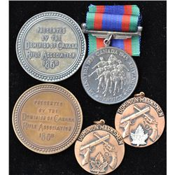 Canadian Medals - Lot of 5