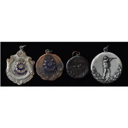 Shooting Medals - Lot of 4