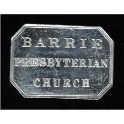 Canadian Communion Tokens - Ontario Token