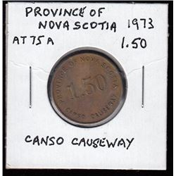 Nova Scotia Token - Canso Causeway