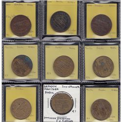 Manitoba - Lot of 9 pieces relating to the 1913 Dominion Exhibition