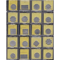 Lot of 30 Manitoba bakery tokens.