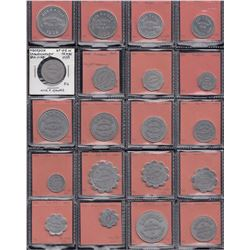 Saskatchewan - Lot of 119 trade tokens.