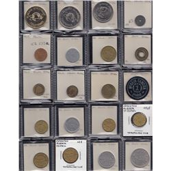 Alberta - Lot of 113 trade tokens.