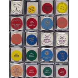 Alberta - Bulk lot of 300 plastic tokens