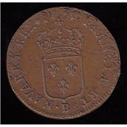 Sol au buste enfantin.  1719-B.