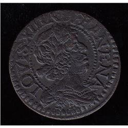 Double Tournois: 1638-E