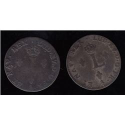 Sous-Marques. 1757/6-A and 1758-A.