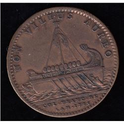 Br. 515.  Jeton, Argonauts, in copper.