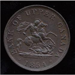Br. 720.  1854 halfpenny.