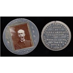 Ottawa Pair  - Numismatist's Cards