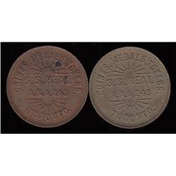 Toronto Pair  - Numismatist's Cards