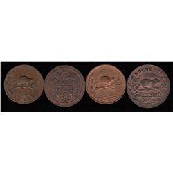 Thomas Church Tokens