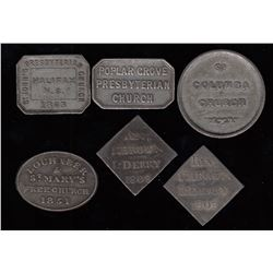 Nova Scotia Communion Tokens
