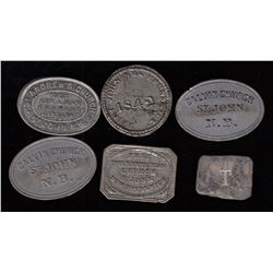 New Brunswick Communion Tokens
