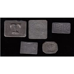 Prince Edward Island Communion Tokens