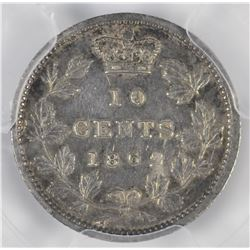 1862 New Brunswick Ten Cents