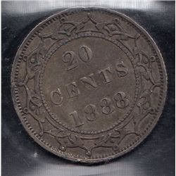 1888 Newfoundland Twenty Cents