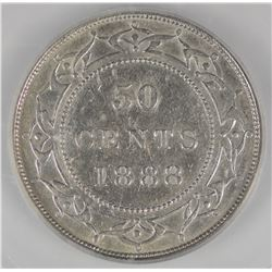 1888 Newfoundland Fifty Cents