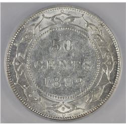 1899 Newfoundland Fifty Cents