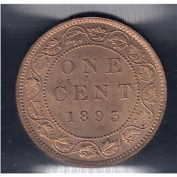 1893 One Cent