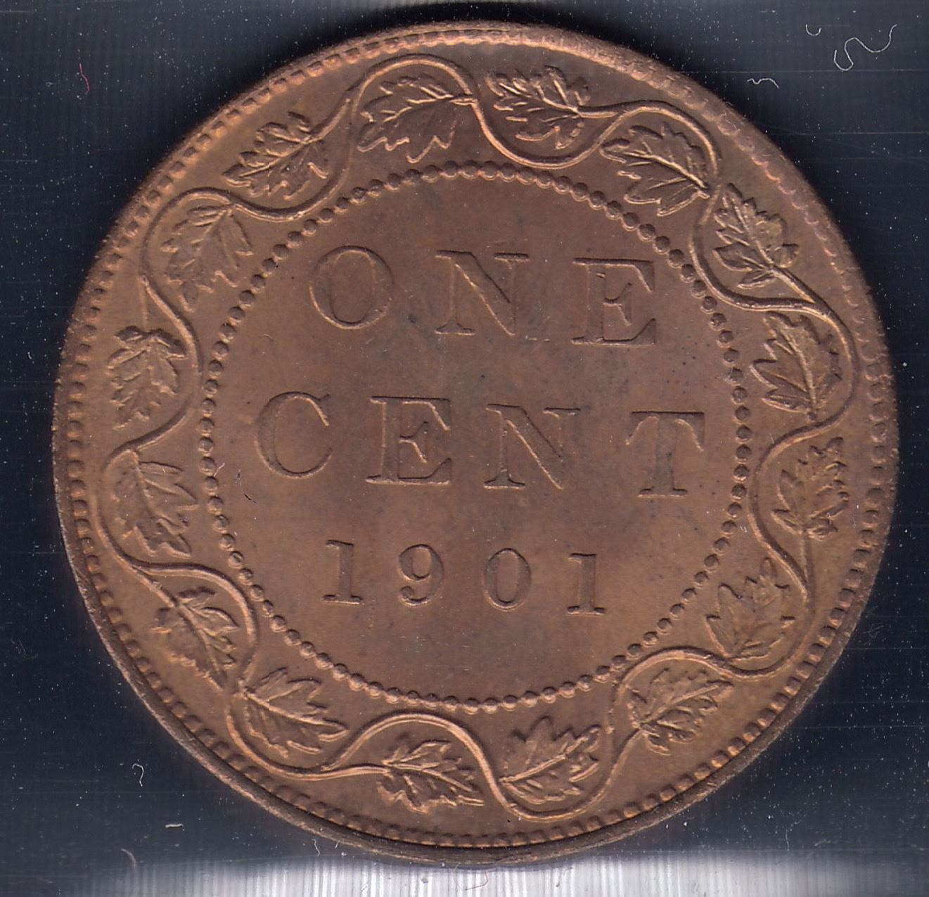 1901 one cent coin value