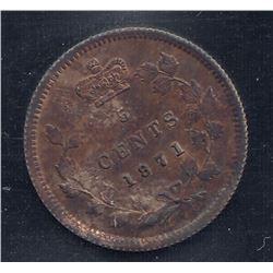 1871 Five Cents